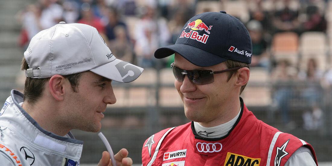 DTM Hockenheimring 2012, Rennen, Mattias Ekström, Jamie Green