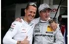 DTM Hockenheimring 2012, Rennen, Michael Schumacher, Ralf Schumacher