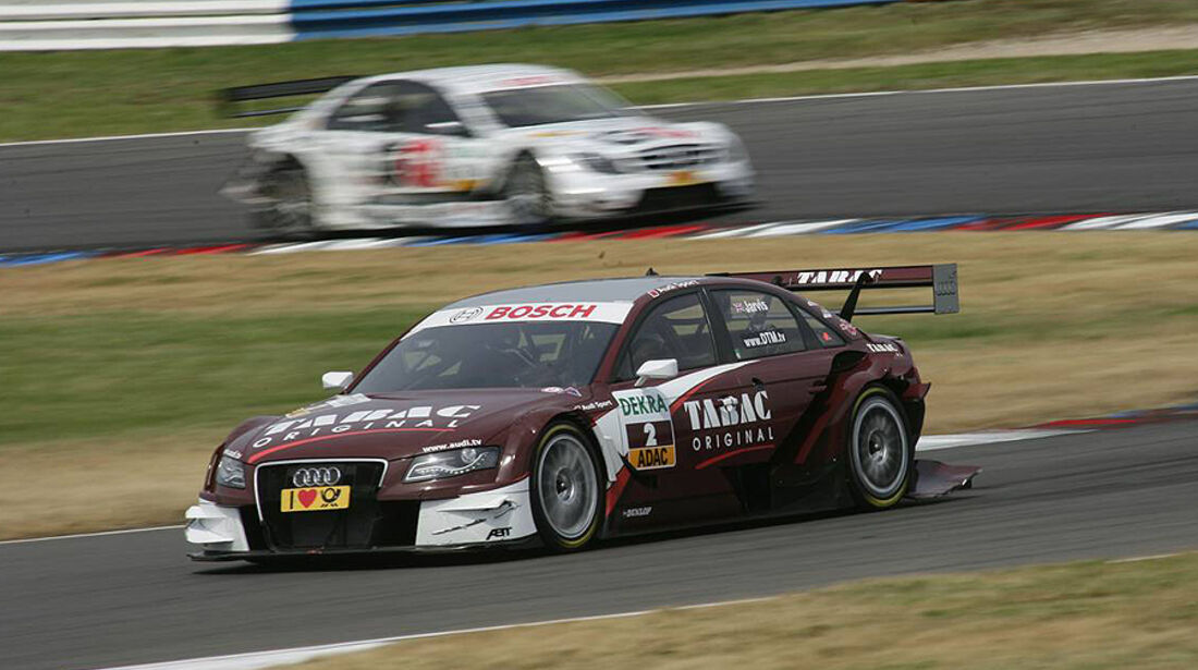 DTM Lausitzring 2010 Oliver Jarvis Audi A4