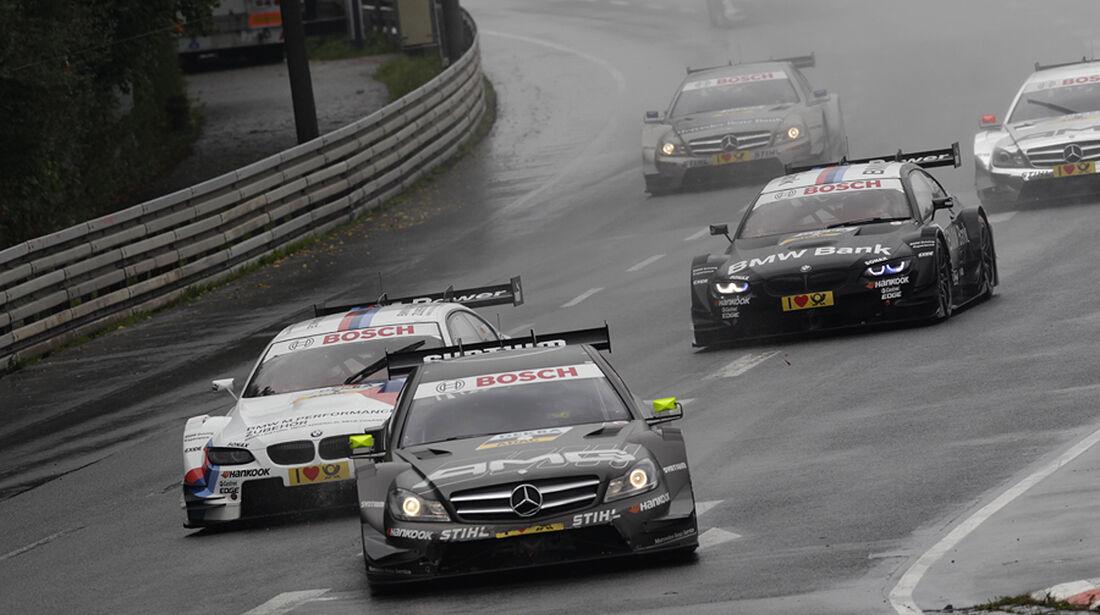 DTM Norisring 2012 Rennen, Paffett, Tomczyk, Spengler