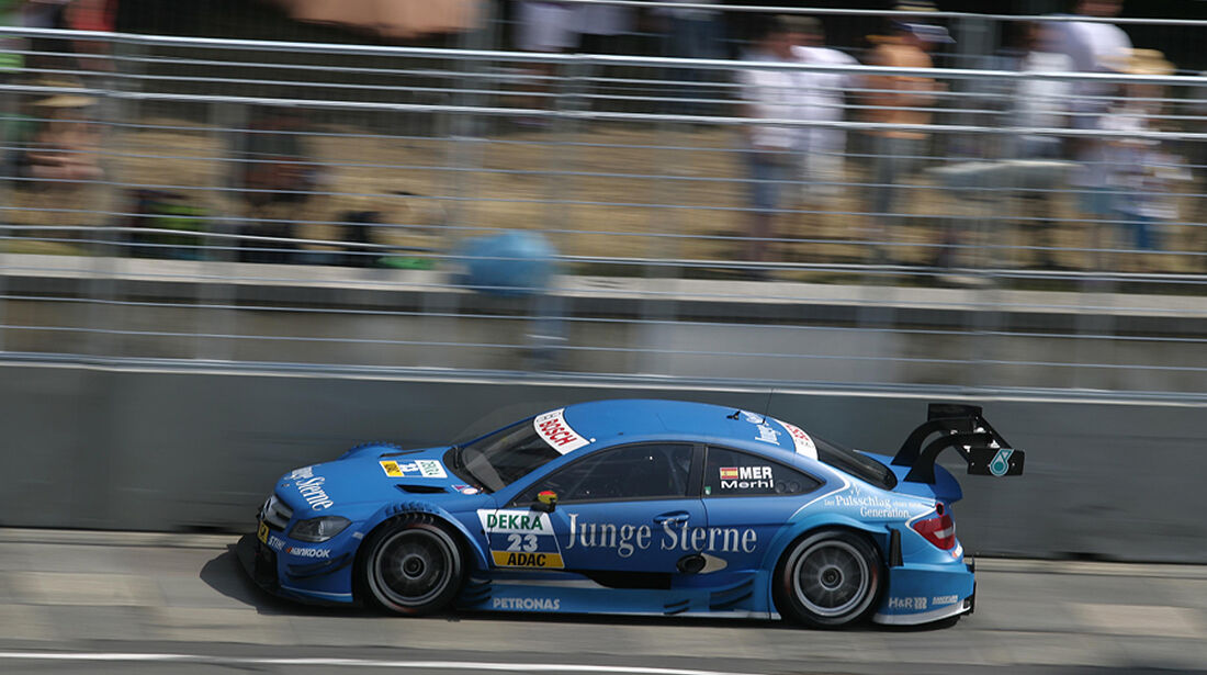 DTM Norisring 2012 Rennen, Robert Merhi
