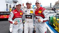 DTM - Nürburgring 2014 - Podest - Wittmann - Rockenfeller - Mortara