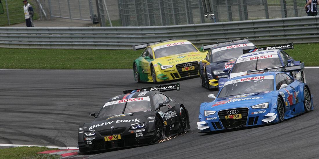 DTM Spielberg 2012 Rennen, Bruno Spengler, Filipe Albuquerque