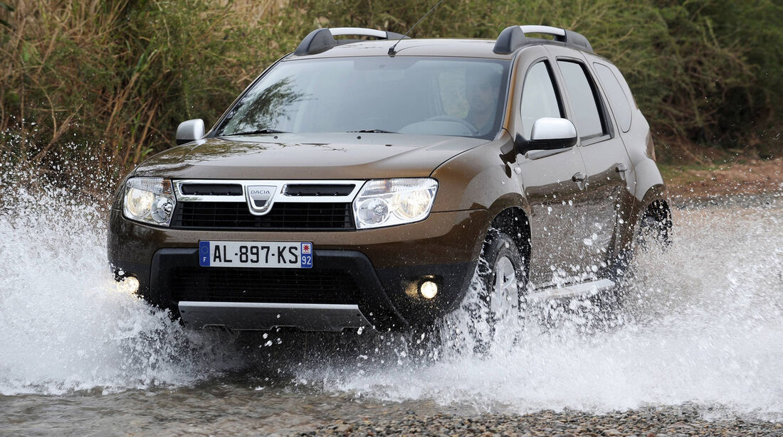Dacia Duster, Frontansicht