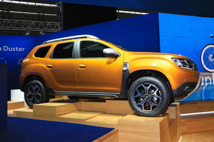 Billig Suv Der Neue Dacia Duster Auf Der Iaa 2017 Auto