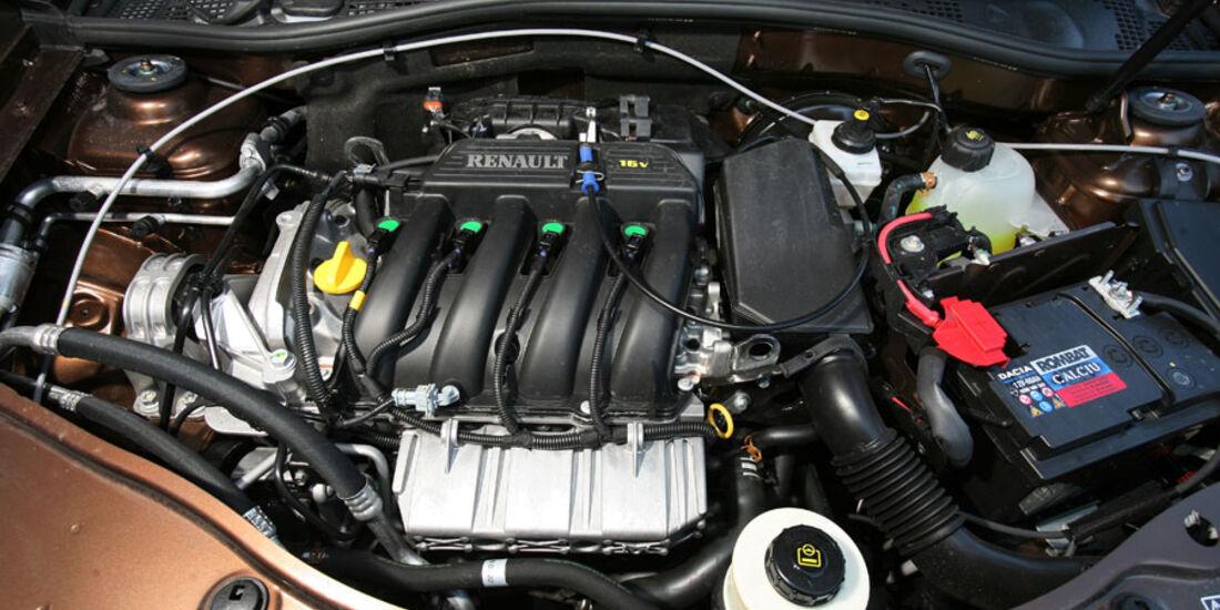 Dacia Duster, Motor