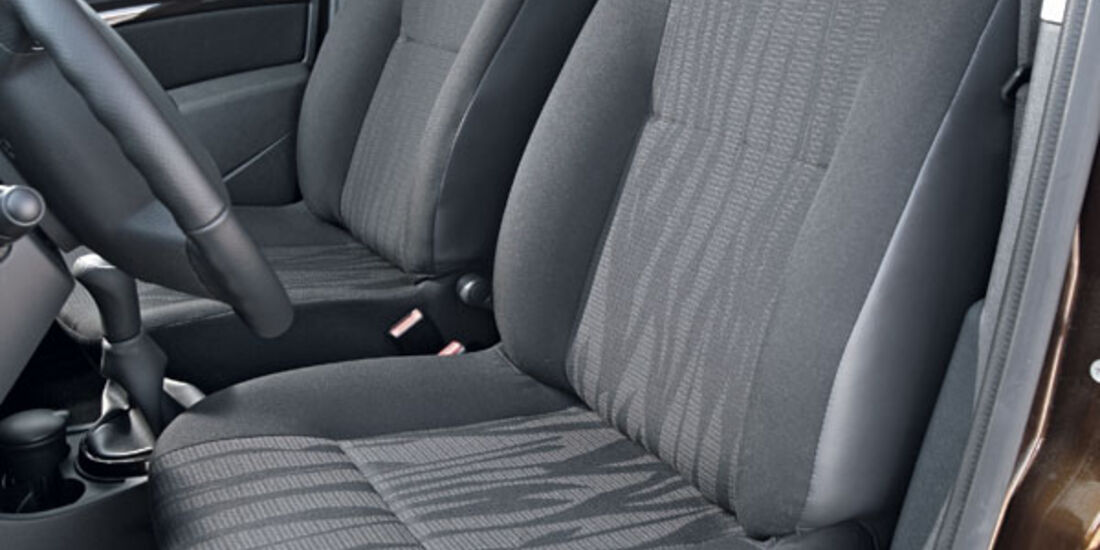 Dacia Duster, Sitze, Innenraum