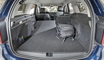 Dacia Duster TCe 125 4x4, Interieur, Kofferraum