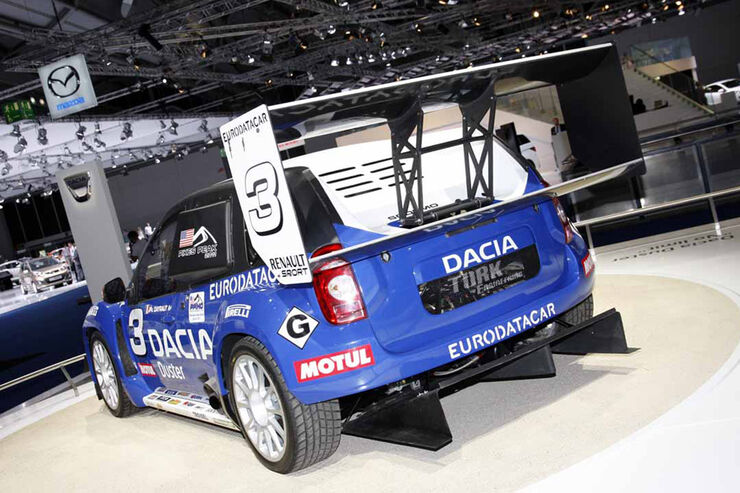 Dacia Duster Unlimited IAA 2011