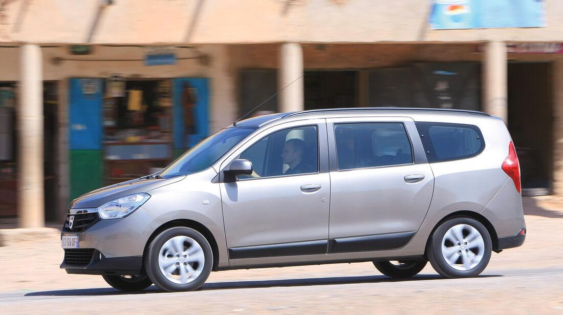 Dacia Lodgy, Seitenansicht