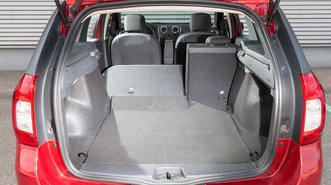 Dacia Logan MCV TCe 90, Kofferraum, Ladefläche