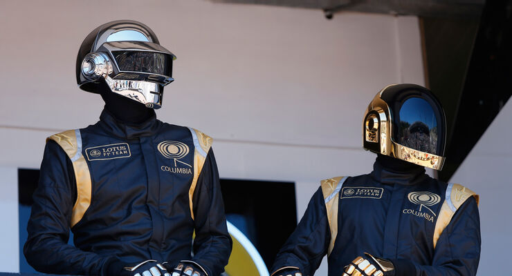 Daft Punk Lotus GP Monaco 2013