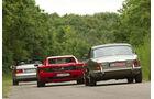 Daimler Double Six, Ferrari 512 TR, Mercedes-Benz SL 600, Heckansicht