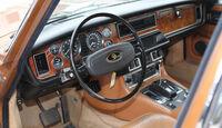 Daimler Double-Six Vanden Plas Series II, Cockpit, Lenkrad