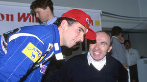 Damon Hill & Frank Williams - 1993