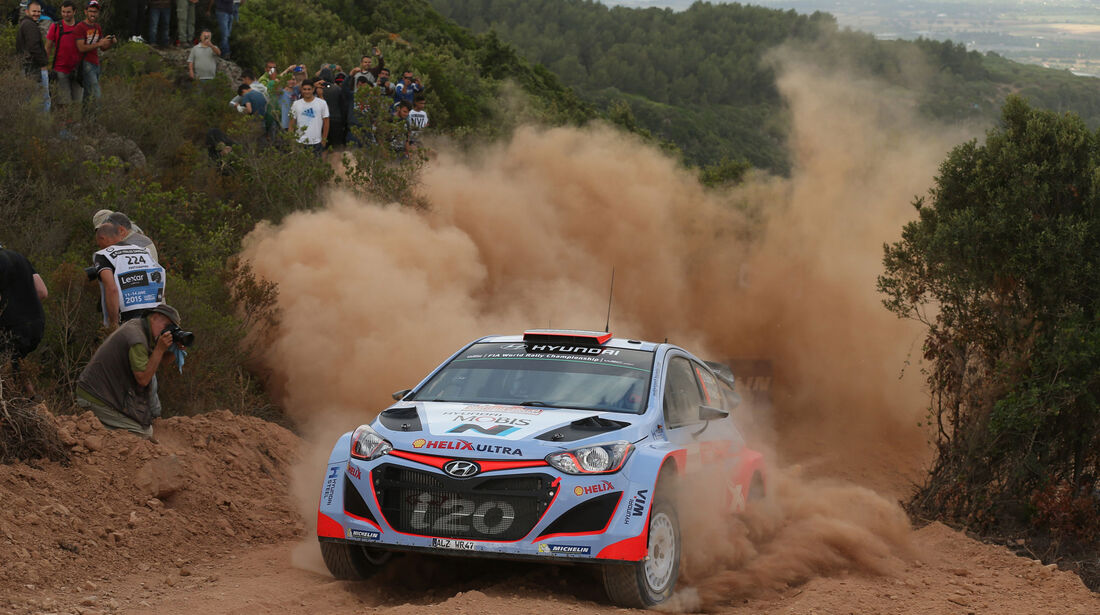 Dani Sordo - Hyundai - Rallye Sardinien - WRC