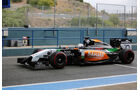 Daniel Juncadella - Force India - Formel 1 - Jerez - Test - 30. Januar 2014