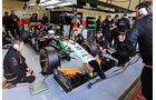 Daniel Juncadella - Force India - Formel 1 - Silverstone-Test - 9. Juli 2014