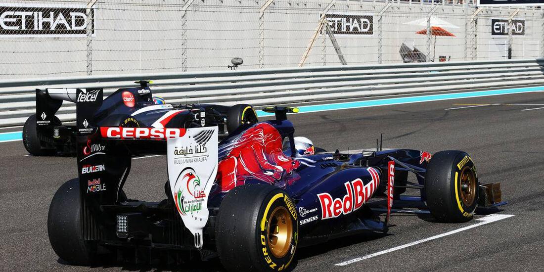 Daniel Ricciardo - Esteban Gutierrez - Formel 1 - GP Abu Dhabi - 02. November 2013