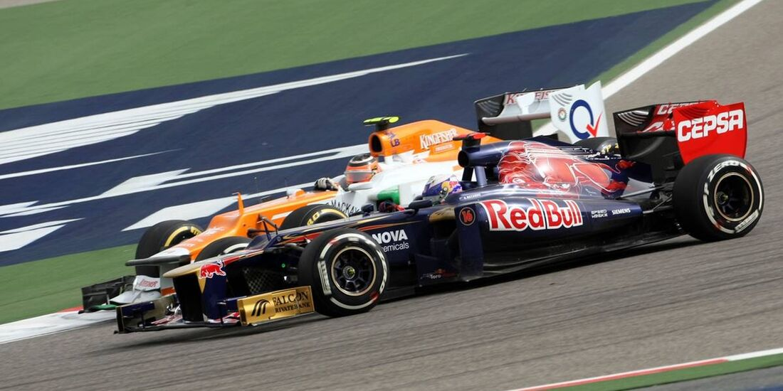 Daniel Ricciardo  - Formel 1 - GP Bahrain - 22. April 2012