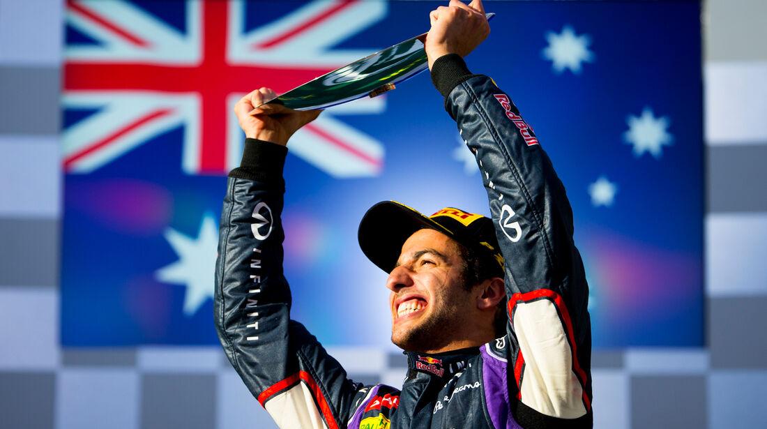Daniel Ricciardo - GP Australien 2014