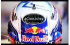 Daniel Ricciardo - Jules Bianchi-Aufkleber - GP Ungarn 2015