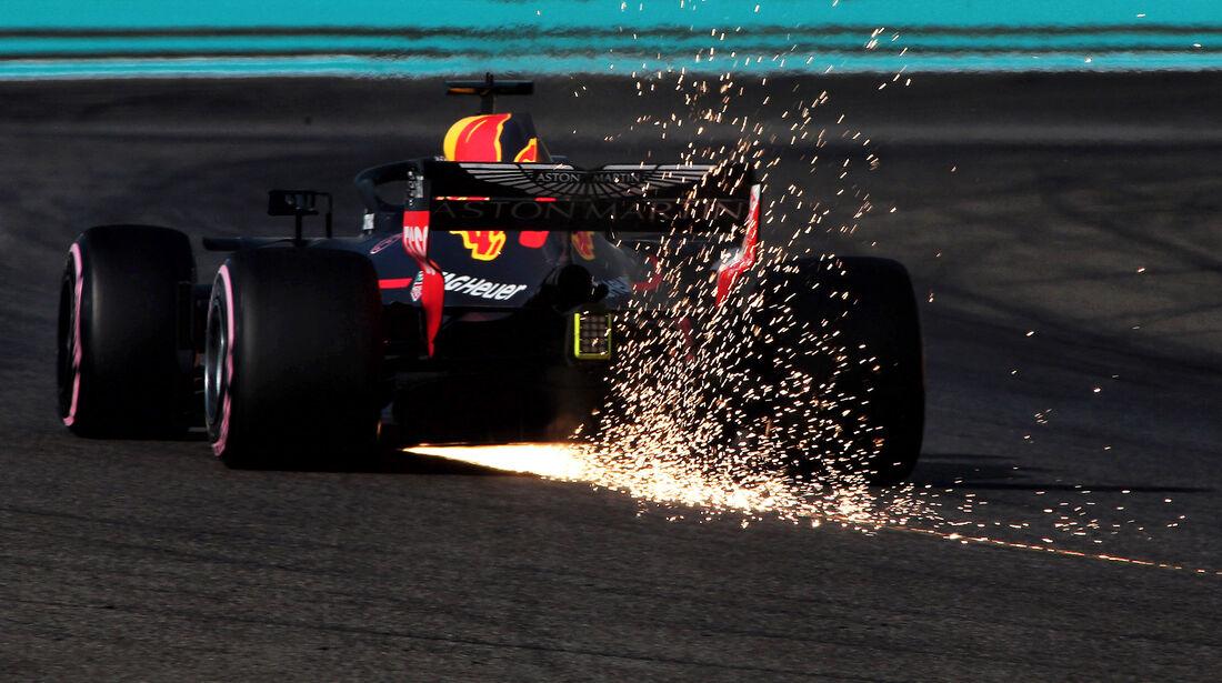 Daniel Ricciardo - Red Bull - Formel 1 - GP Abu Dhabi  -24. November 2018