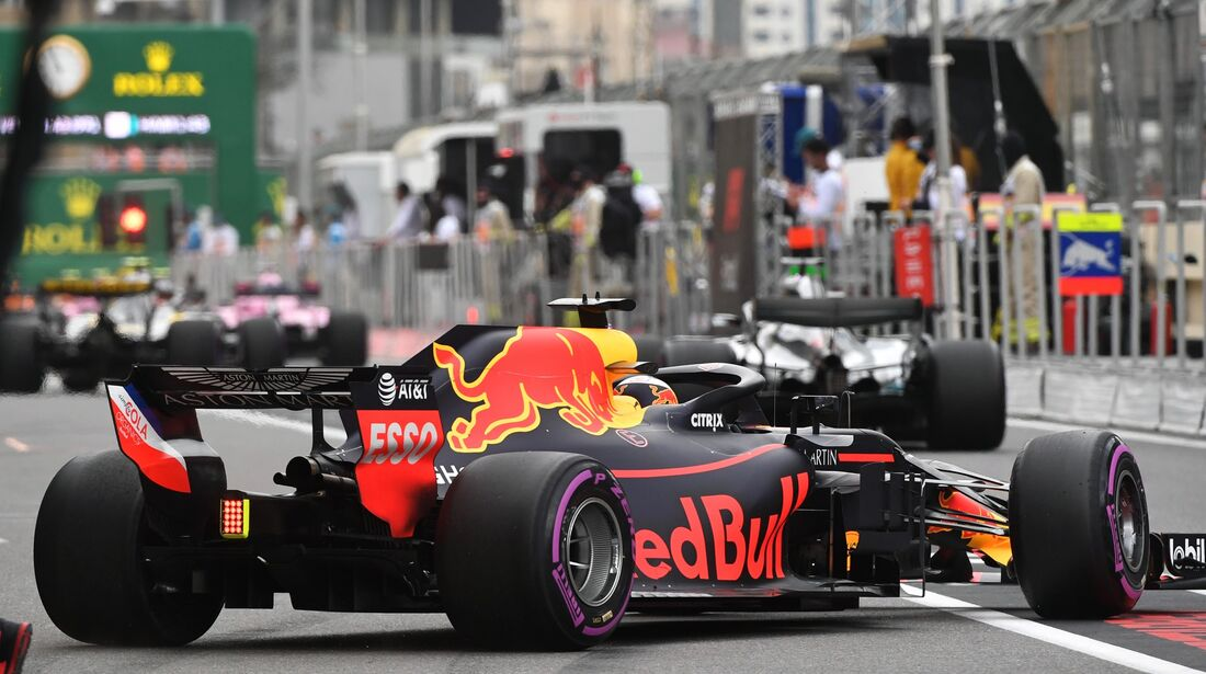 Daniel Ricciardo - Red Bull - Formel 1 - GP Aserbaidschan - 28. April 2018