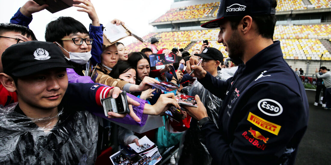 Daniel Ricciardo - Red Bull - Formel 1 - GP China - Shanghai - 6.4.2017