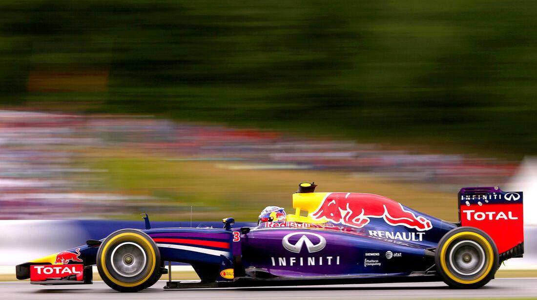 Daniel Ricciardo - Red Bull - Formel 1 - GP Österreich - Spielberg - 21. Juni 2014