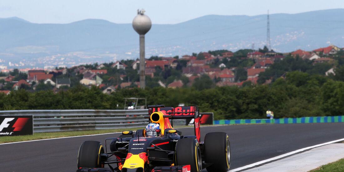 Daniel Ricciardo - Red Bull - Formel 1 - GP Ungarn - 22. Juli 2016