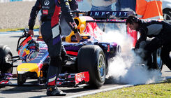 Technik-Dramen bei F1-Tests