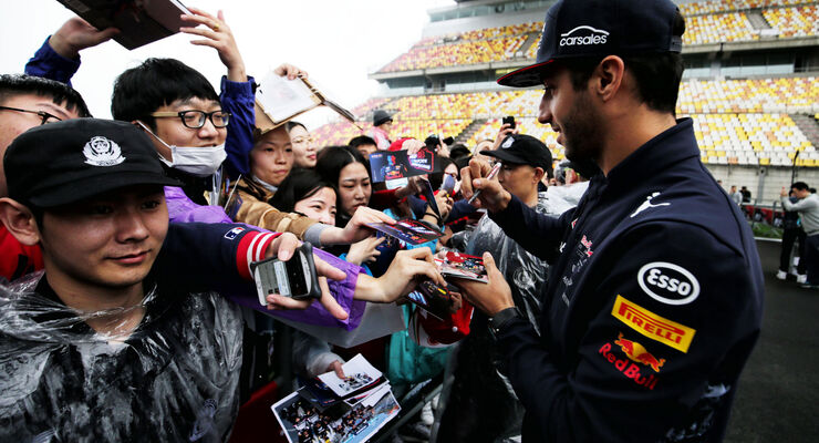Daniel Ricciardo - Red Bull - GP China - Shanghai - 6.4.2017