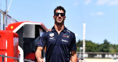 Daniel Ricciardo - Red Bull - GP Deutschland - Hockenheim - Formel 1 - Donnerstag - 19.7.2018