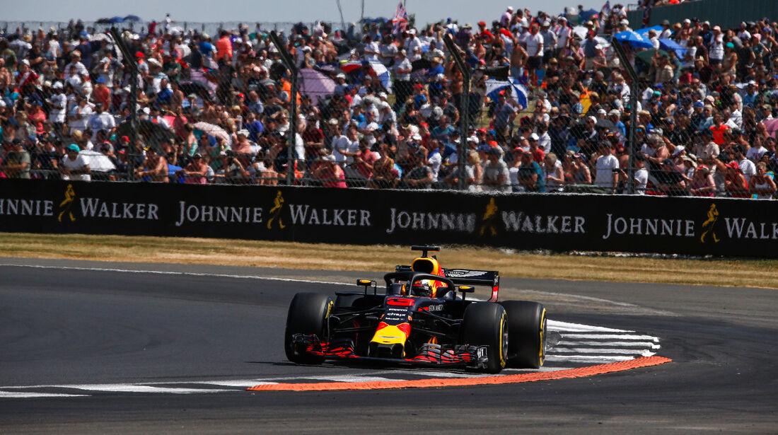 Daniel Ricciardo - Red Bull - GP England - Silverstone - Formel 1 - Samstag - 7.7.2018
