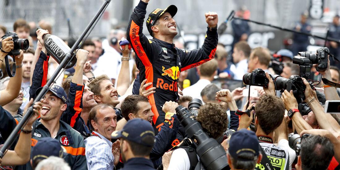 Daniel Ricciardo - Red Bull - GP Monaco 2018