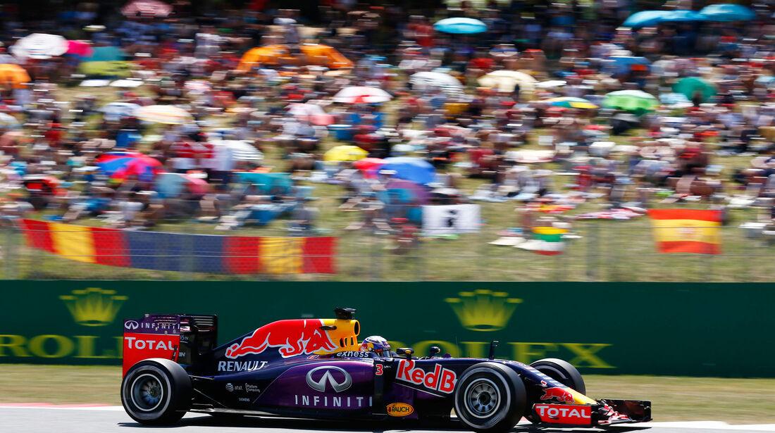 Daniel Ricciardo - Red Bull - GP Spanien 2015 - Rennen - Sonntag - 10.5.2015