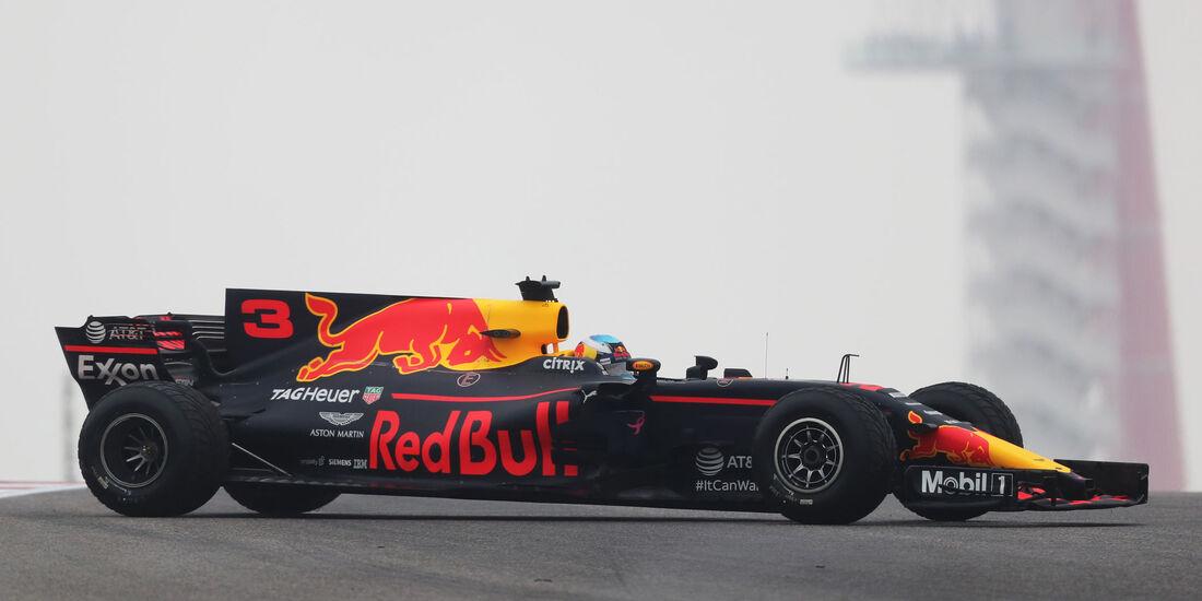 Daniel Ricciardo - Red Bull - GP USA - Austin - Formel 1 - Freitag - 20.10.2017