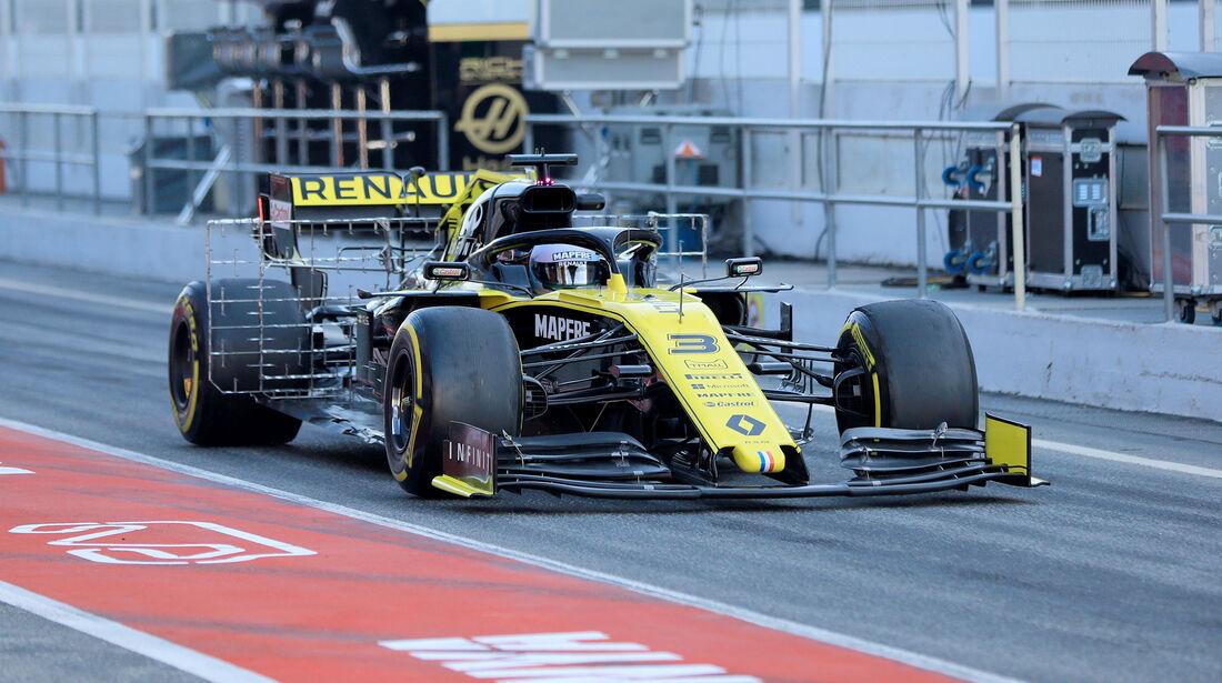 Daniel Ricciardo - Renault - Barcelona - F1-Test - 27. Februar 2019