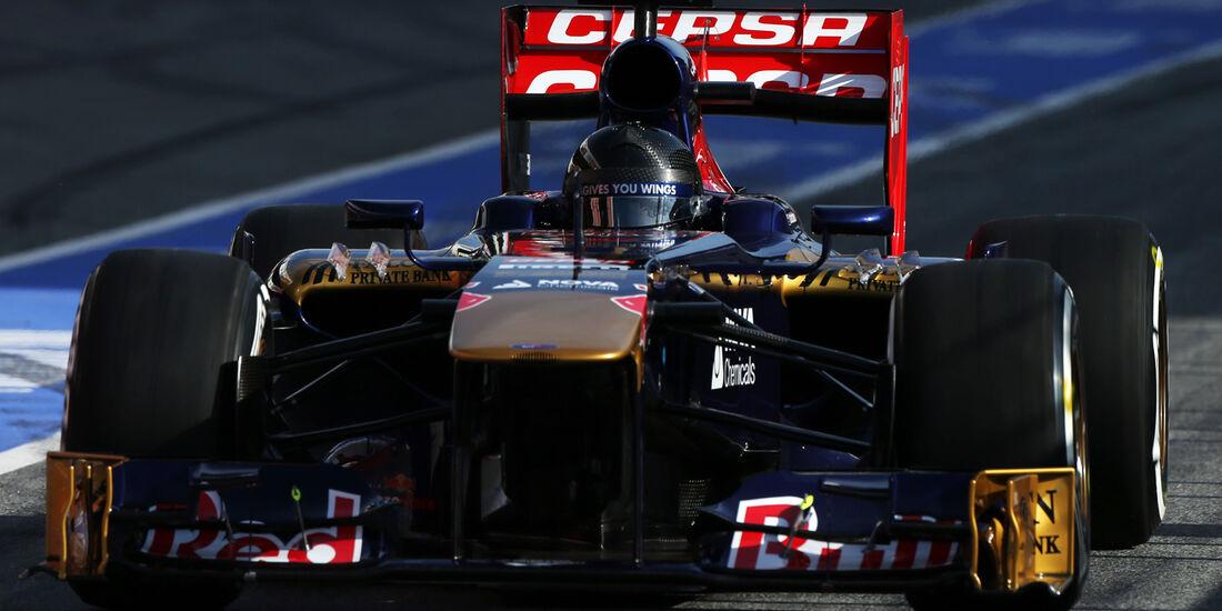 Daniel Ricciardo - Toro Rosso - Formel 1 - Test - Barcelona - 3. März 2013