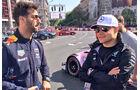 Daniel Ricciardo & Valtteri Bottas - Budapest Showrun - 2017