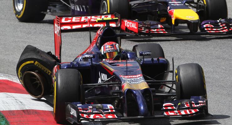 Daniil Kvyat - GP Österreich 2014
