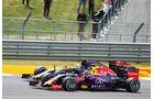 Daniil Kvyat - Red Bull - Carlos Sainz - Toro Rosso - GP England - Silverstone - Rennen - Sonntag - 5.7.2015