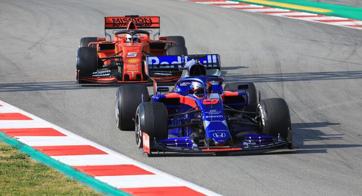 Daniil Kvyat - Toro Rosso - Barcelona - F1-Test - 01. März 2019