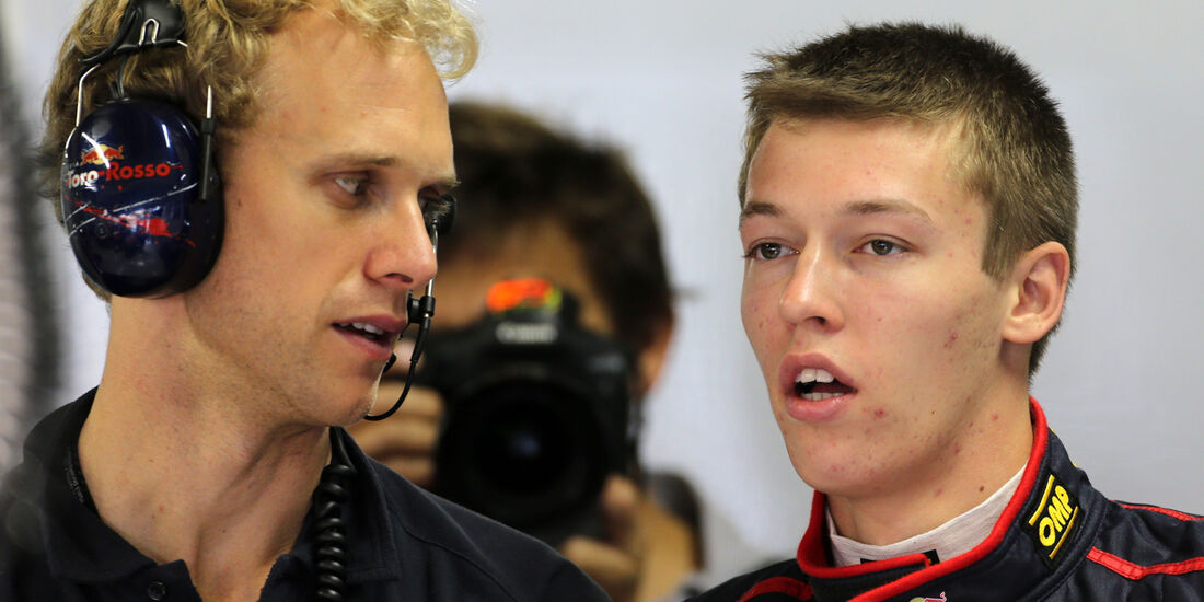 Daniil Kvyat - Toro Rosso - Formel 1 - GP Brasilien - 22. November 2013