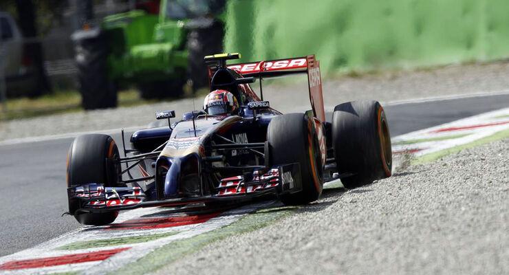 Daniil Kvyat - Toro Rosso - Formel 1 - GP Italien - 5. September 2014