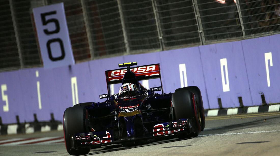 Daniil Kvyat - Toro Rosso - Formel 1 - GP Singapur - 20. September 2014