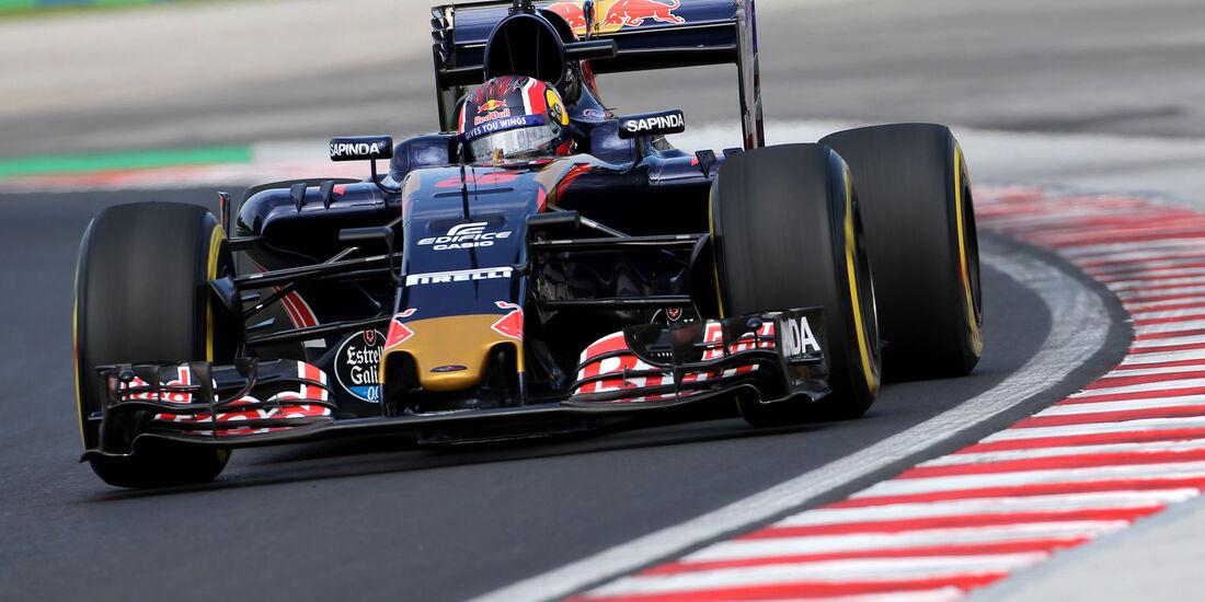 Daniil Kvyat - Toro Rosso - Formel 1 - GP Ungarn - 22. Juli 2016