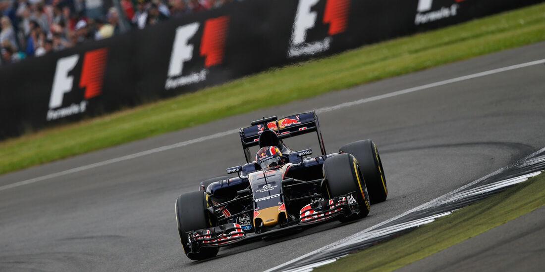 Daniil Kvyat - Toro Rosso - GP England - Silverstone - Qualifying - Samstag - 9.7.2016