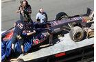 Daniil Kyvat - Toro Rosso - Young Drivers Test - Silverstone - 19. Juli 2013
